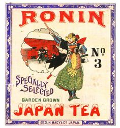 tea label Tea Labels, Cute Poster, Japanese Poster, Logo Sign, Japanese Graphic Design, Oui Oui, Retro Design, Label Design, Painted Signs