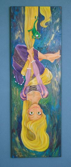 64 New Ideas For Drawing Disney Animals Rapunzel Disney Canvas Art, Disney Art, Disney Ideas, Cartoon Painting, Painting & Drawing, Disney Drawings, Art Drawings, Drawing Disney, Rapunzel Drawing