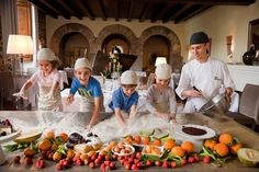 A special cooking class designed especially for mini-chefs