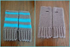 Super Simple Fingerless Gloves: Free Crochet Pattern!
