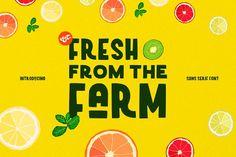 Fresh From The Farm by Kollkolls on Creative Market