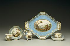 Sevres Breakfast Service~~~Hillwood Museum in DC