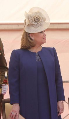 Grand Duchess Maria Teresa, June 23, 2014 | Royal Hats...Luxembourg National Day...Posted on June 25, 2014 by HatQueen