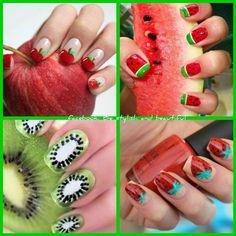 Cute summer nails!