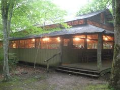 Dining hall at Camp Monterey