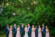 Blush Pink, Peach + White Coastal Charleston SC Wedding at The Island House // Dana Cubbage Weddings // Charleston SC Wedding Photography