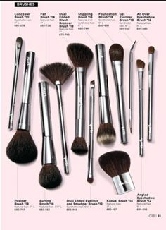 Check out Mark. By Avon Brush Collection.   https://www.avon.com/brochure?s=ShopBroch&c=repPWP&rep=pnunemaker&utm_content=buffer623f4&utm_medium=social&utm_source=pinterest.com&utm_campaign=buffer #Avon  #beauty #makeup