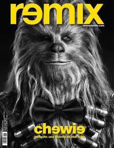 860ec23effee Tapa Remix 235 Chewie  HanSolo Una historia de  starwars