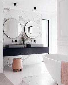 COCOON marble bathroom design inspiration byCOCOON.com | high end stainless steel coloured bathroom taps | modern design products for bathroom and kitchen | renovations | villa design | hotel design | Dutch Designer Brand COCOON