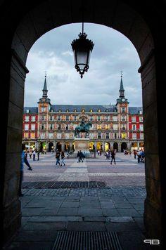 Pedro Bernal ha enviado esta fotografía de la Casa de la Panadería en la Plaza Mayor Madrid