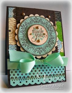 by Amber Hight - Verve Stamps Inspiration Gallery