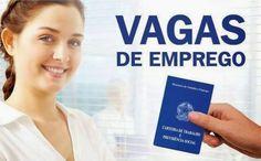 VAGAS DE EMPREGO!