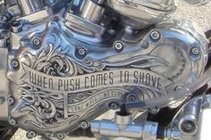 "if only this said ""when push comes to shovel"""