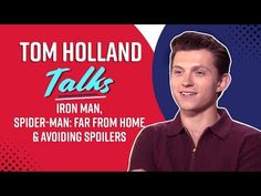 Tom Holland discusses Tonys last scene and what he knew about Endgame Iron Man Death, Marvel Trailers, Tony Stark, Tom Holland, Candid, Spiderman, Toms, Marvel Comics, Scene