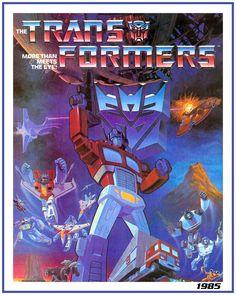 1985 Transformers Ad
