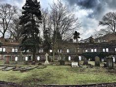 Catacombs at Warstone Lane Cemetery Birmingham England