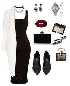 """""""#Classic#simple#elegant#cool#balanced"""" by innakkk on Polyvore featuring Alexander Wang, Yves Saint Laurent, WithChic, Ciner, SO & CO, Gucci, Bobbi Brown Cosmetics and NARS Cosmetics"""