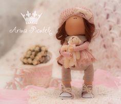кукла из трикотажа