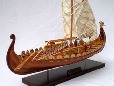 Viking Ship Clinker Built