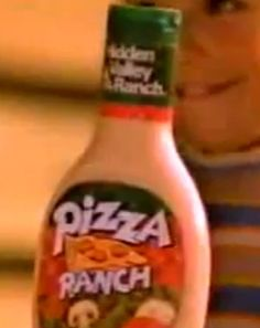 Pizza flavored ranch dressing