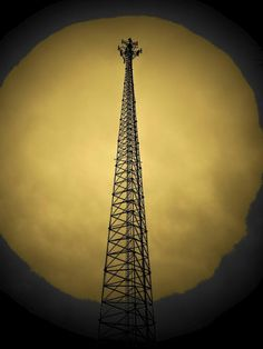 Cell Phone Tower Photograph  - Cell Phone Tower Fine Art Print