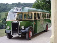 You can travel up to Greenway in a vintage 1947 country bus called Barnaby.