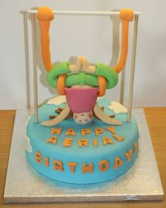 Aerial Yoga cake