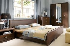 KOEN BRW Bedroom furniture set. Polish Black Red White Modern Furniture Store in London, United Kingdom #furniture #polish #brw #blackredwhite #bedroom