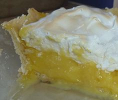 5 Acres & A Dream  Homestead   Lemon Cream Pie