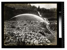 Markuson's Mine, Orleans [Mining - Hydraulic - Orleans #1/unknown] Date: Unknown Ericson Photograph Collection, Region 01 North and northeastern Humboldt County Contributing Institution: Humboldt State University Library
