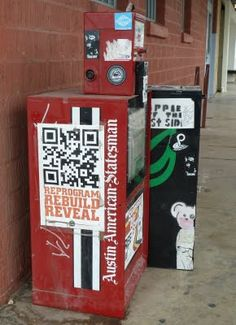 Qr Code in the City