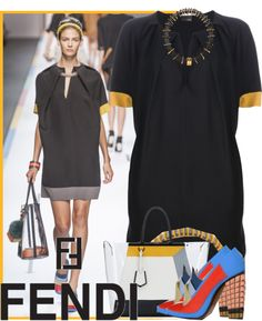 """Fendi Spring 2013"" by kmp11 ❤ liked on Polyvore"