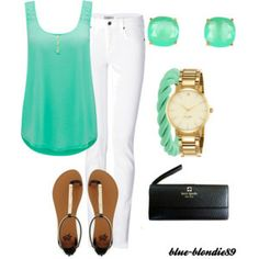Teal and Gold