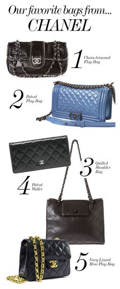 CHANEL // Our Favorite Bags