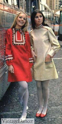 Vestidos Vintage, Vintage Dresses, Vintage Outfits, Vintage Fashion, 1960s Dresses, Mini Dresses, Vintage Shoes, 1960s Outfits, Shift Dresses