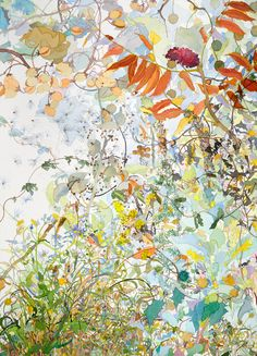 "Autumn. Watercolor, 40"" x 30"". 2011."