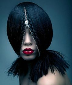 Zip a Part Hair Style.  Kyla, do you want to try this?
