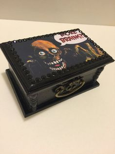 Return Of The Living Dead TarMan Wooden Trinket Box