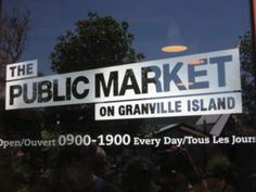 Granville Island Public Market Granville Island, Broadway Shows, Public, Around The Worlds, Marketing, D Day