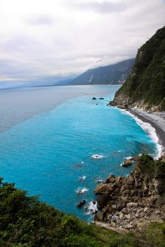 **Locals call it the Yin-Yang Ocean. Hualien, Taiwan.