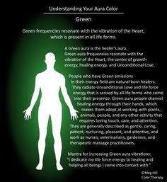 Understanding your Aura color: Green