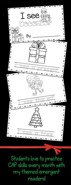 December Math and Literacy Pack – FREEBIES!