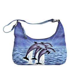 Look what I found on #zulily! Dolphin Leather Shoulder Bag #zulilyfinds
