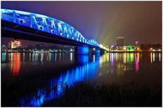 "Trang Tien Bridge spans the Song Huong River, better known as ""Perfume River"" Hue, Central Vietnam"