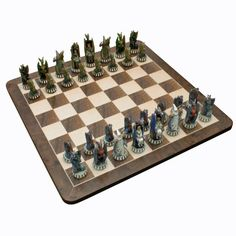 decorative chess sets in traditional vs. unique as game and