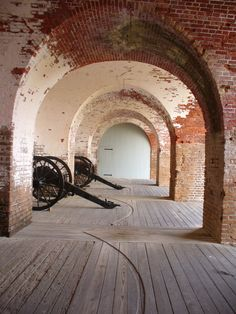 Explore Fort Pulaski on Georgia's Tybee Island! It was one stop we definitely made and loved it!