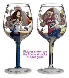 490392247b6b Paw Prints on my Heart Wine Glass Hand Painted Wine Glasses
