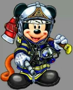 Firefighter Mickey