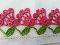 Elegant Filet Crochet Tablecloth For Mod - Diy Crafts - maallure Crochet Boarders, Crochet Edging Patterns, Crochet Lace Edging, Crochet Motifs, Doily Patterns, Thread Crochet, Crochet Trim, Filet Crochet, Irish Crochet