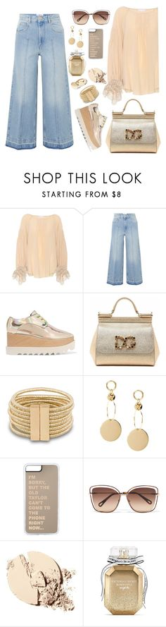 """Untitled #2389"" by ebramos on Polyvore featuring Chloé, Étoile Isabel Marant, STELLA McCARTNEY, Dolce&Gabbana and Victoria's Secret"